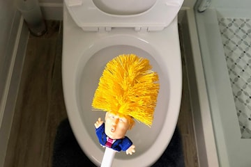 Make your toilet great again toalettbørste