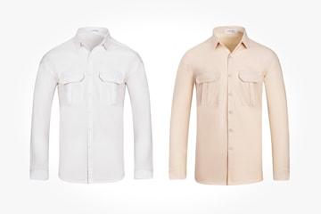 Skjorta i herrmodell