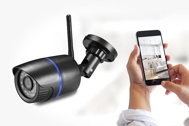 Trådlös IP-kamera med rörelsedetektor