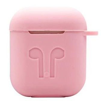 Rosa, 6-in-1 Silicone Airpod Accessory Kit, Tillbehör till Airpods,