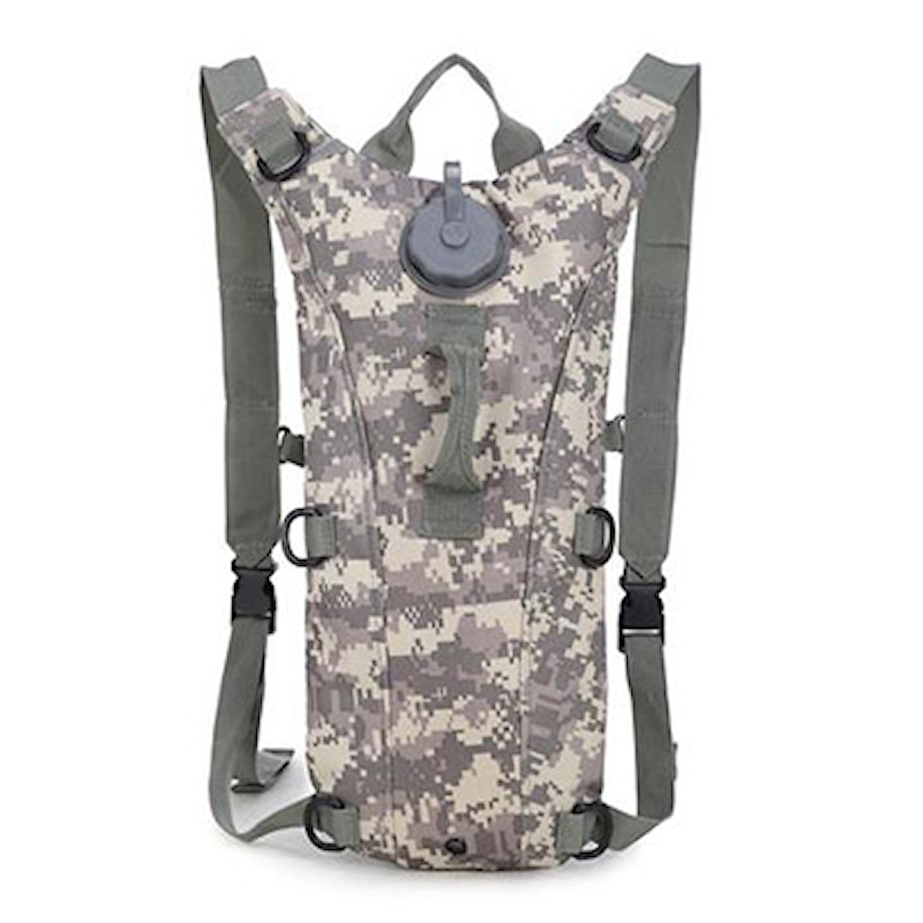 ACU Camo, Tactical Hydration Backpack, Ryggsäck med 3 l vätskesystem, ,