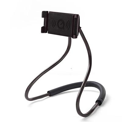 Svart, Flexible 360 universal neck mobile phone handsfree holder, Mobilholder for nakken, ,  (1 av 1)
