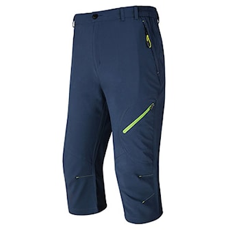 Mørkeblå, XXL, Outdoor 3/4 Pants Male Waterproof, Utendørs knebukse til herre, ,