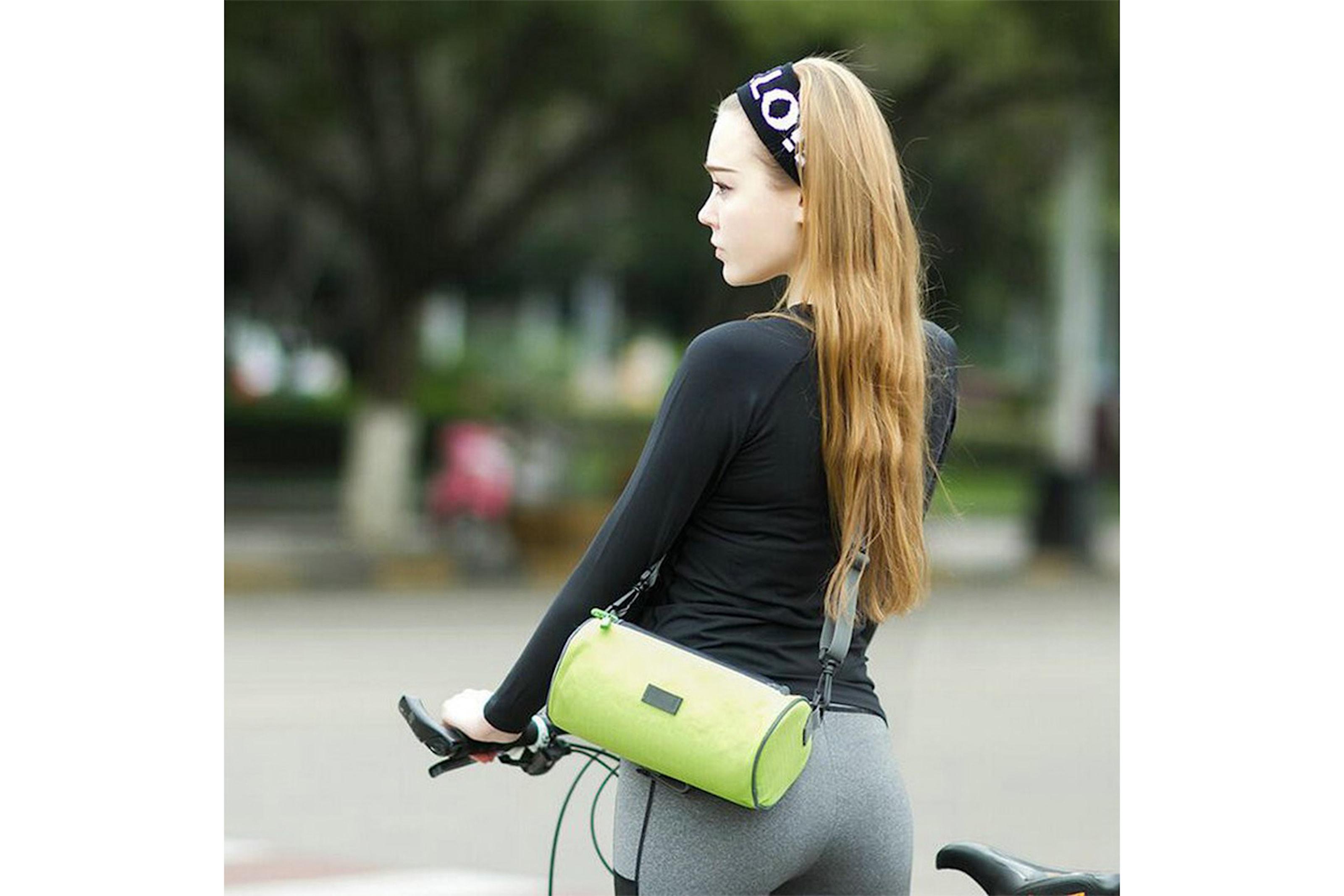 Cykelväska med ficka för mobilen