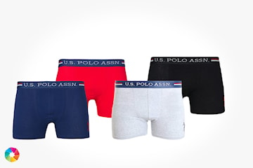 US Polo boxer i 4-pack
