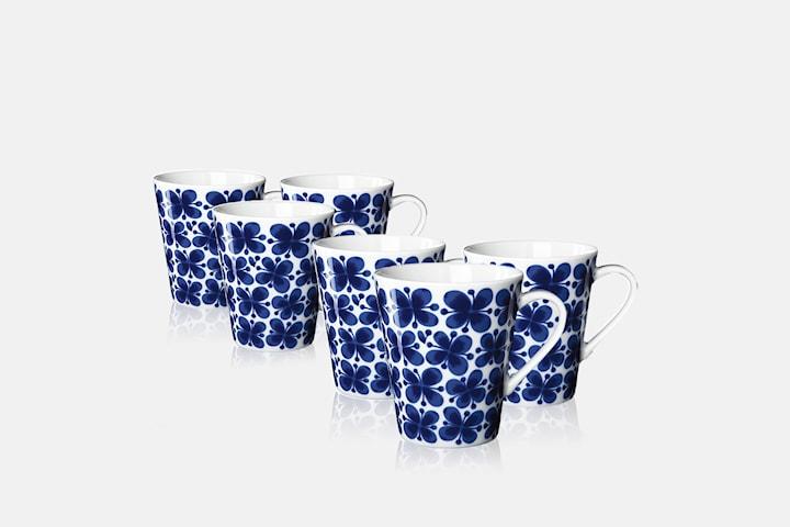 Rörstrand Mon Amie mugg 6-pack + gåva på köpet