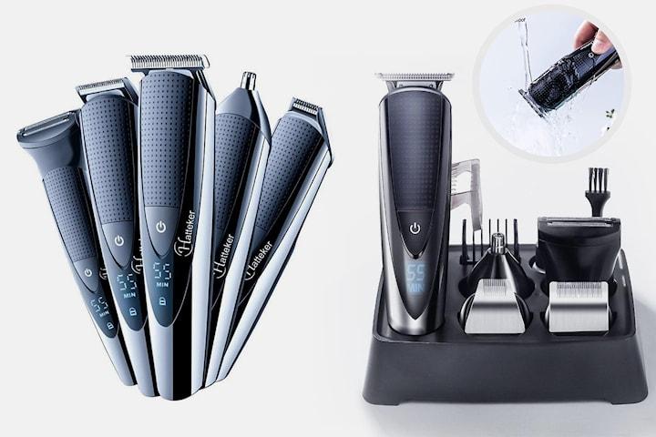 5-i-1 profesjonell hårtrimmer