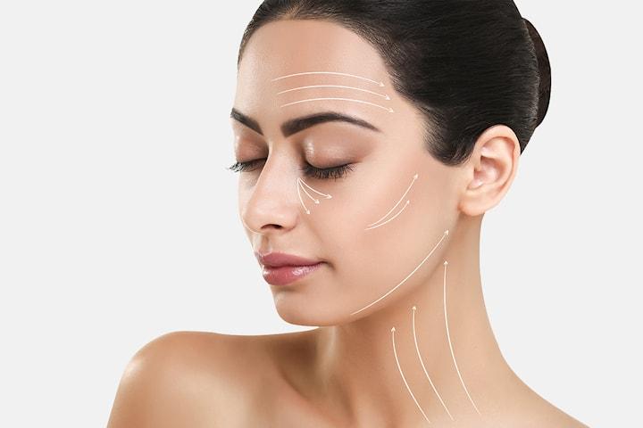 Liftmassage ansiktsbehandling