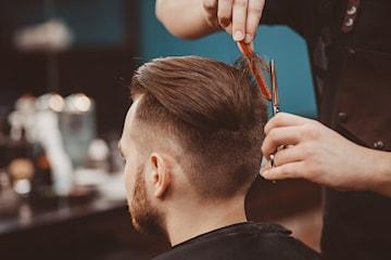 Klippning hos Barbershop Vasastan