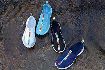 Vattentäta skor med anti slip