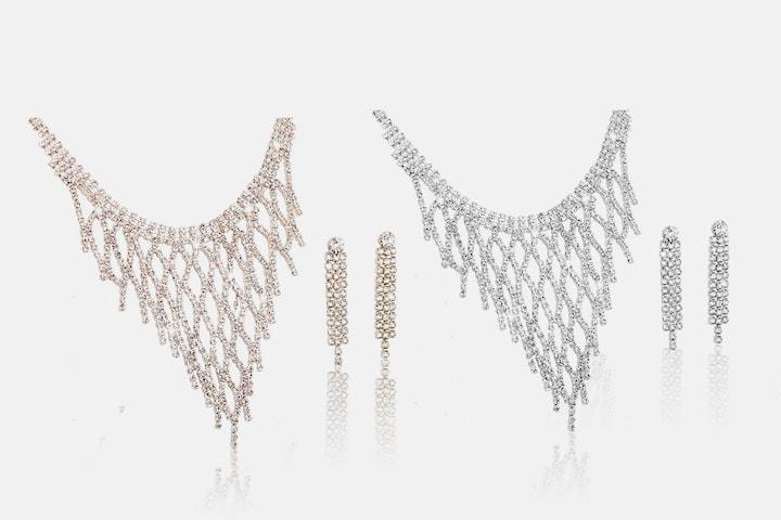 Idala smykkesett med Swarovski Elements