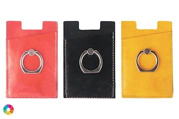 Ring- och korthållare för mobil