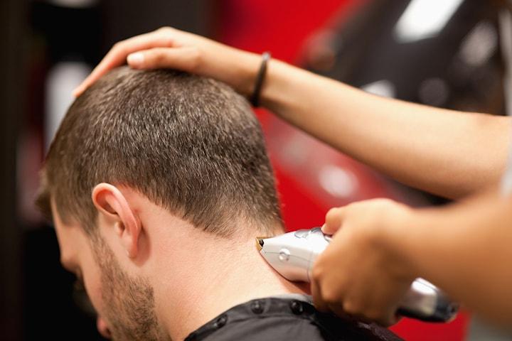 Herrklippning hos Hair studio 23
