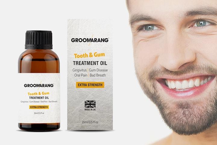 Groomarang tann- og tannkjøttolje