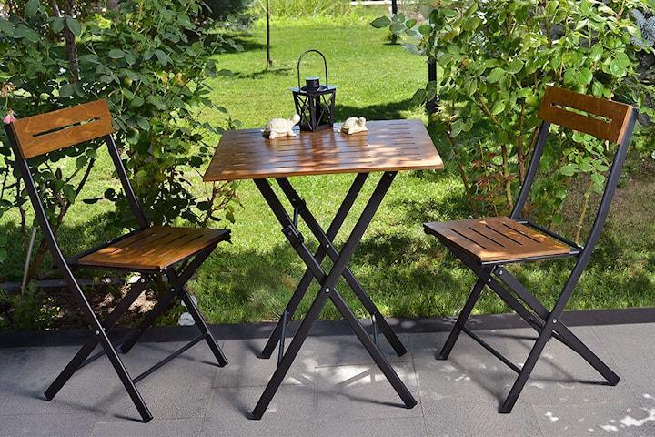 Valovi bord och 2 stolar