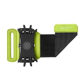Grön, Rotating Running Armband for Smartphone, Roterbart armband till iPhone och Android-telefoner, ,