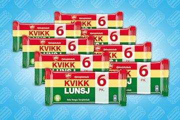 6-pack Kvikklunsj 8 stk