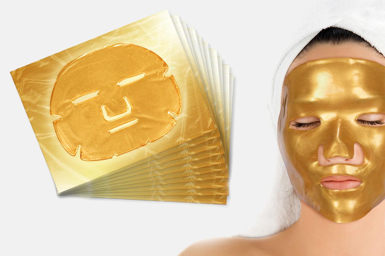 Gold Collagen ansiktsmasker (1 av 4)