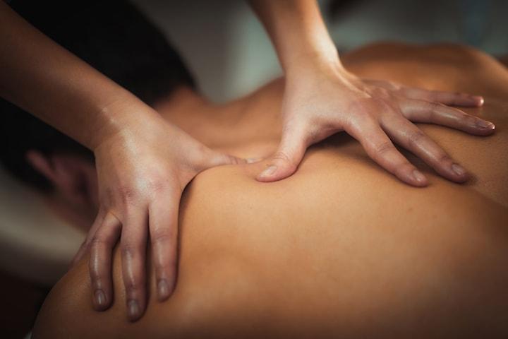 50 min massage hos Kinaterapi