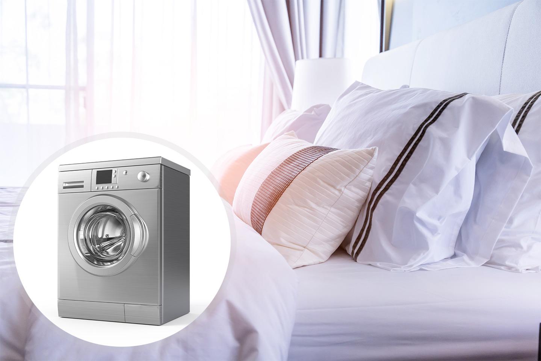 Vask av dyne, pute eller madrasstrekk hos Billig Vask og Rens AS (1 av 2)