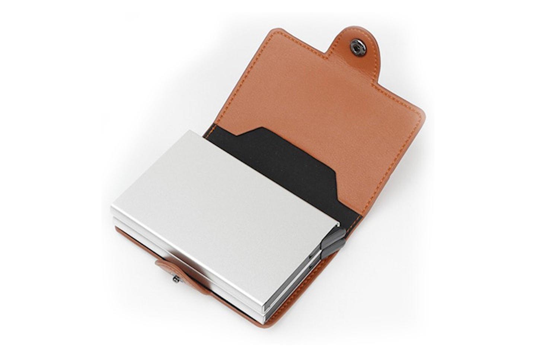 Kortholder med RFID-beskyttelse