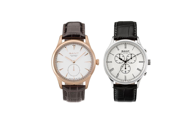 Eleganta klockor i herrmodell, Gant