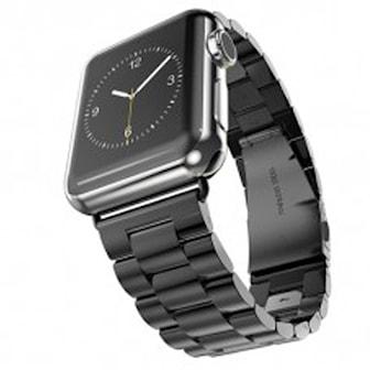 Svart, 38 mm, Stainless Link for Apple Watch, 38 or 42mm, Rustfritt stålarmbånd til Apple Watch, ,