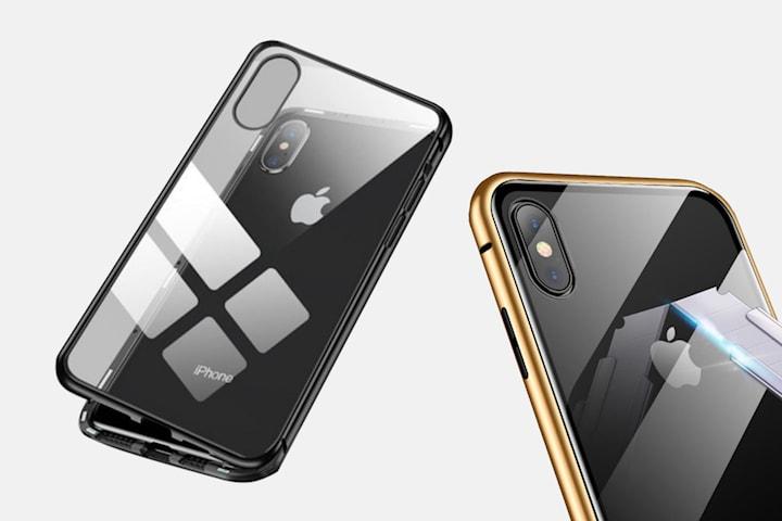 Mobilfodral i härdat glas för iPhone
