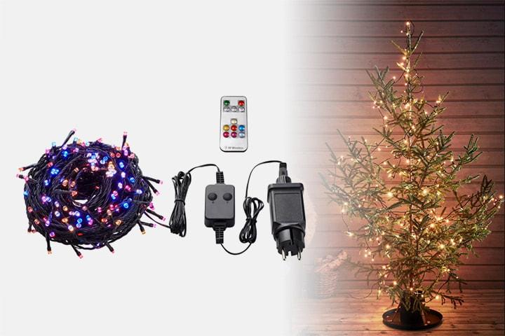 Markslöjd Choice multifärgad ljusslinga 200L LED