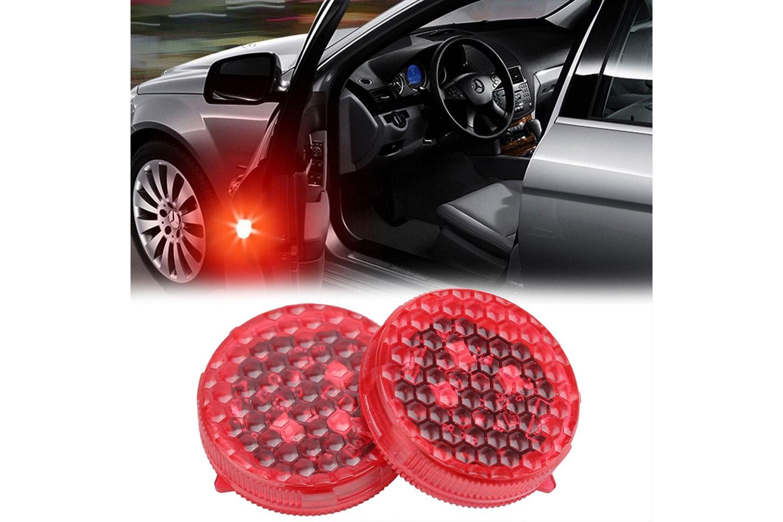 Säkerhetsljus för bil 2- eller 4-pack