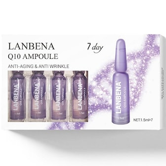 Q10 Anti Aging & Anti Wrinkle, 1-pack, 7 dagar,