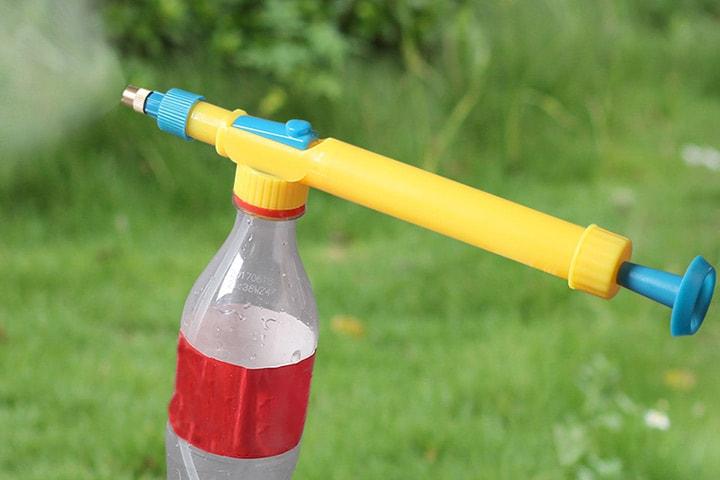 Spraydyse for vannflaske