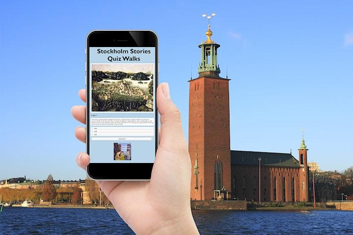 Stockholm Stories Quiz Walks: Frågesport på stan