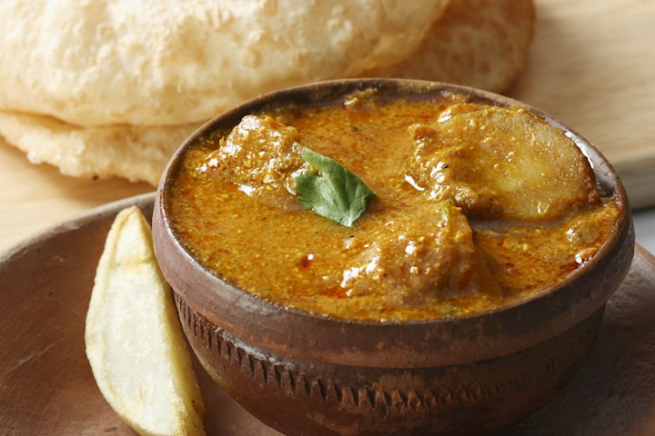 Valfri varmrätt från Bengal kitchen