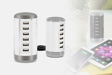 Smart USB-laddningsstation