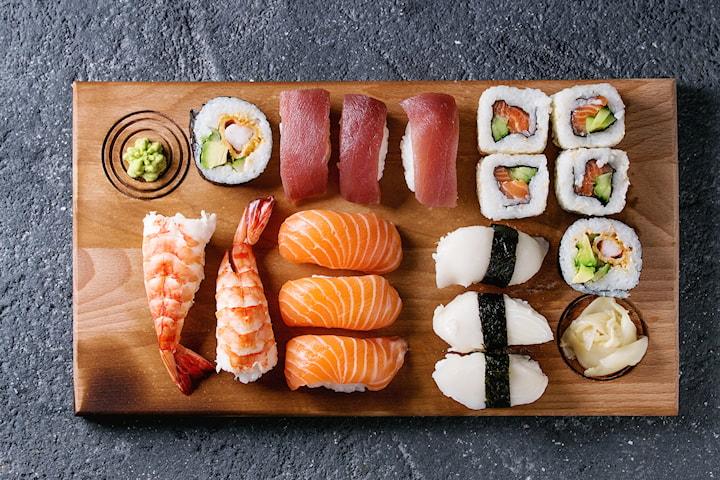 Sushi hos Bangkok Thai