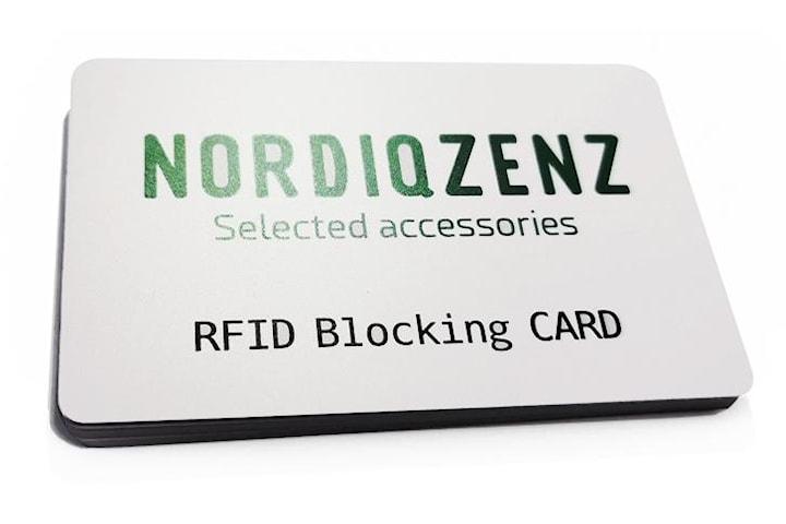 NORDIQZENZ RFID/NFC Blocker-kort