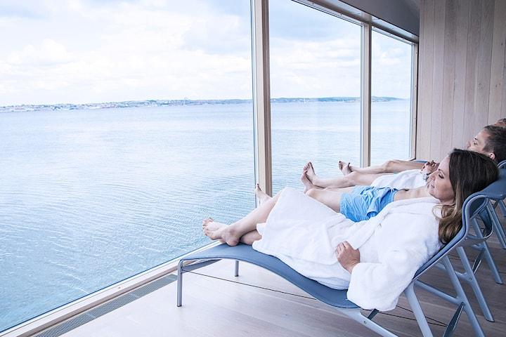 Gullmarsstrand hotell för 2 personer inkl. frukost