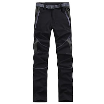 Svart/Grå, 3XL, Thin Outdoor Sports Breathable Pants, Vandringsbyxor, ,