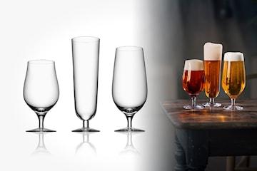 Orrefors Beer Collection ölglas 3-pack