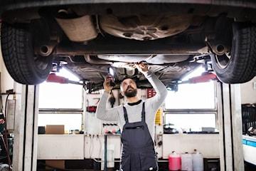 Rostskyddsbehandling och bilkontroll