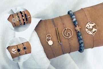 Vackra armbandsset