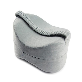 Grå, Memory Pillow, Memory foam pute til beina, ,