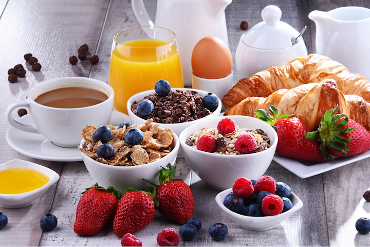 Frukost på Fika på Berga