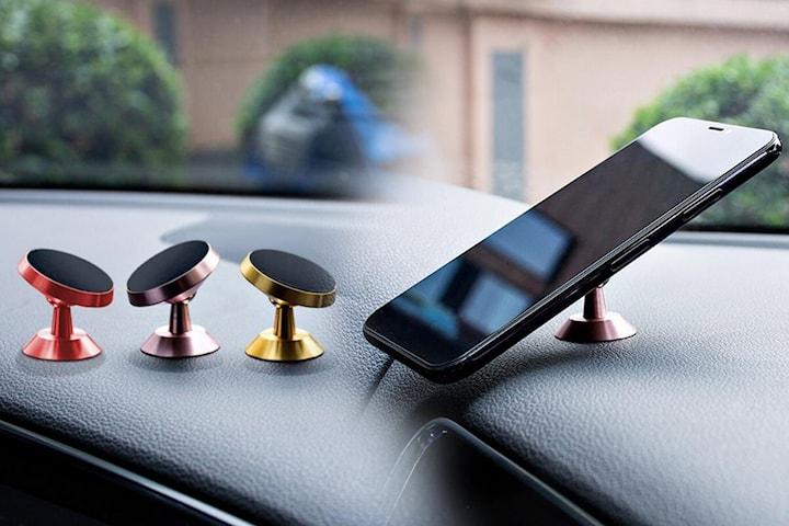 Mobilhållare med magnet