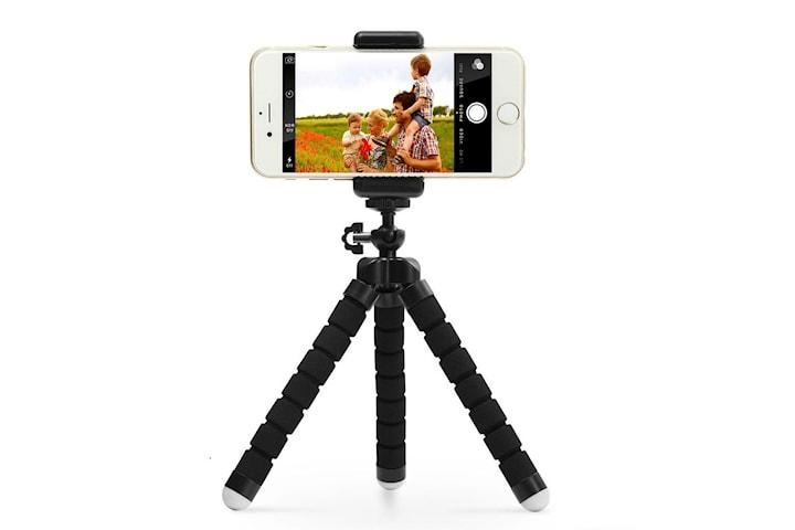 Tripod - trebeinsstativ med fjernstyring for mobil og kamera