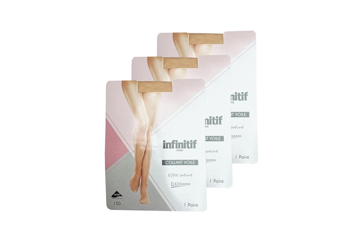 3 -pack tights - Infinitif Collant Couture