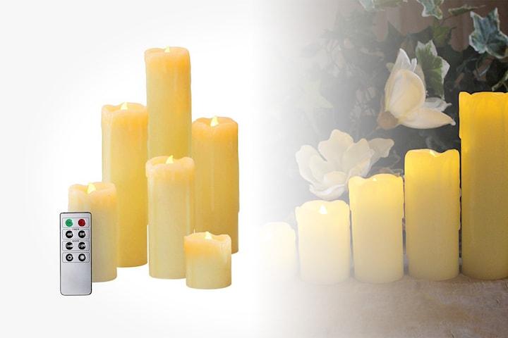 Nya LED-blockljus med fjärrkontroll   Erbjudanden och rabatter online HD-87