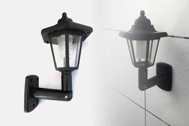Viktoriansk utelampe med solcelle (1 av 2)