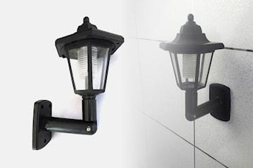 Solcellslampa i viktoriansk stil